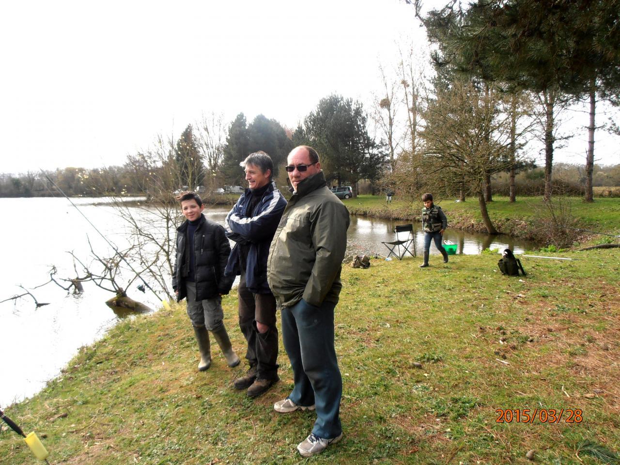 Le 28.03 Pêche de la truite à Chavagne
