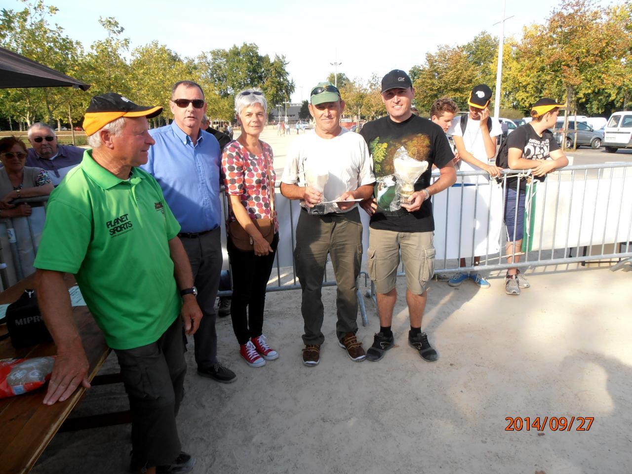 1ère Equipe du Marathon de Pêche 2014