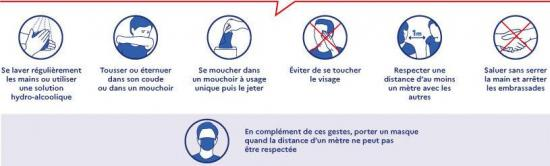 Conseils situation sanitaire