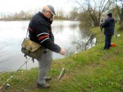 pêche de la truite à Chavagne