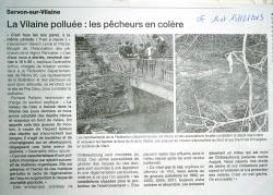 Article Ouest france Pollution
