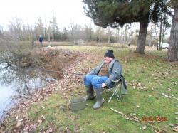 A la pêche il y aussi la décontraction