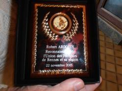 Médaille Union des Pêcheurs